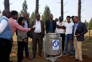 New Swivel Bins for Endumeni Municipality