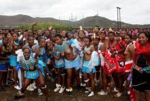 "UMkhosi WoMhlanga ""Reed Dance"" takes place"